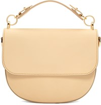 Sophie Hulme Beige Medium Bow Bag