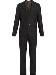 Prada Single Breasted Suit Black