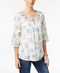 Styleandco. Style Co. Printed Peasant Top Only At Macy's Retro Calling