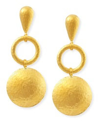 Long Lentil Drop Spell Earrings Gurhan