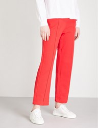 Moandco. Embroidered Jersey Jogging Bottoms