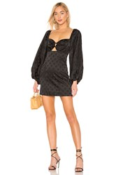 C Meo Collective Elate Long Sleeve Dress In Black