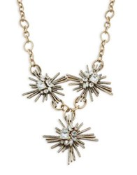 Design Lab Lord And Taylor Multi Star Pendant Necklace Gold