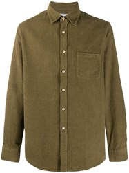 Portuguese Flannel Lobo Shirt Green