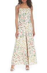 Ali And Jay Lunching Lady Floral Jumpsuit Botanical Floral