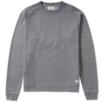 Oliver Spencer Saddle Crew Sweat Grey