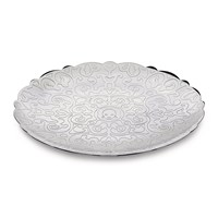 Alessi Dressed Round Tray Stainless Steel