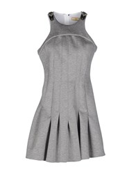 Fay Dresses Short Dresses Women Light Grey