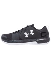 Under Armour Commit Tr Sports Shoes Black White