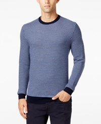 Club Room Men's Big And Tall Classic Fit Sweater Only At Macy's Navy Blue