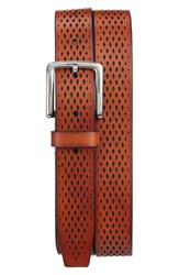 Cole Haan Men's Washington Grand Perforated Leather Belt