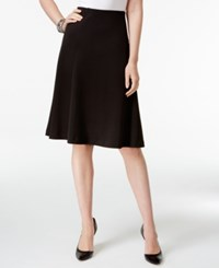 Alfani A Line Skirt Only At Macy's Deep Black