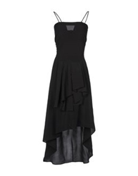 Anne Valerie Hash Long Dresses Black