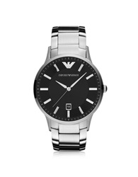 Emporio Armani Sportivo Stainless Steel Men's Watch Silver