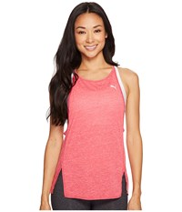 Puma Dancer Drapey Tee Sparkling Cosmo Heather Women's Sleeveless Pink