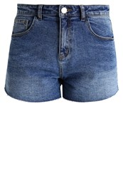 Noisy May Nmbe Liv Denim Shorts Medium Blue Denim