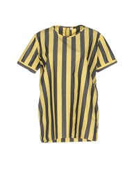 Scaglione City Blouses Yellow