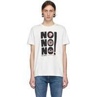 Nudie Jeans Off White No No No Roy T Shirt