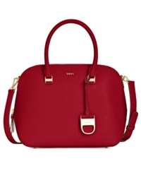Dkny Prim Small Satchel Created For Macy's Scarlet