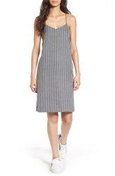 Everly Women's Stripe Slipdress Grey