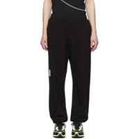 A Cold Wall Black Restitch Tracksuit Lounge Pants