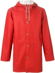 Excelsior X Expo Hooded Raincoat Red
