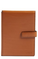 Lodis Rfid Leather Passport Wallet Brown Toffee