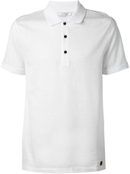Versace Collection Aztec Textured Polo Shirt