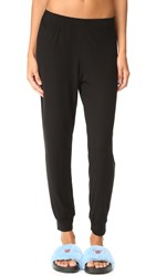 Only Hearts Club Featherweight Rib Lounge Pants Black