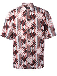 Prada Printed Shortsleeved Shirt