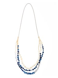 Chesca Shell And Beaded Necklace