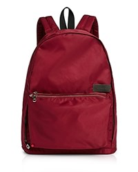 State Lorimer Backpack Burgundy