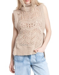 Plenty By Tracy Reese Sleeeveless Turtleneck Sweater Dawn