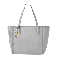 Fossil Emma Leather Tote Bag Iron