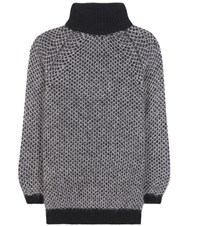 Marc Jacobs Mohair And Silk Sweater Grey
