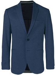 Hugo Boss Fitted Blazer Blue