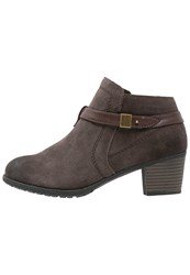 Hush Puppies Maria Ankle Boots Marron Brown