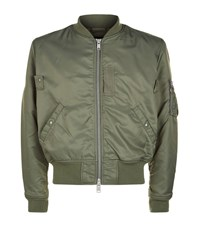 Allsaints Marlo Bomber Jacket Male Green