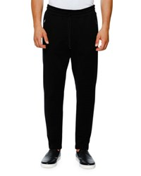 Dolce And Gabbana Zip Pocket Drawstring Jogger Pants Black
