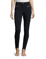 Michael Michael Kors Ponte Stirrup Leggings New Navy