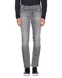 Closed Denim Denim Trousers Men Grey