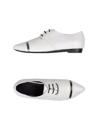 Vic Matie Vic Matie' Footwear Lace Up Shoes Women White