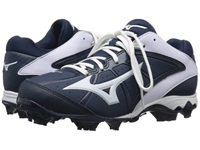 Mizuno 9 Spike Advanced Finch Elite 2 Navy White Women's Cleated Shoes Blue