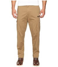 Nautica Sateen Cargo Pants Oyster Brown Men's Casual Pants