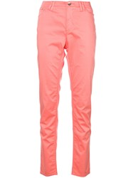Armani Jeans Straight Pink And Purple