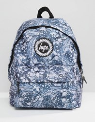 Hype Backpack Marble Black