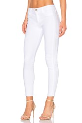 Joe's Jeans The Icon Mid Rise Ankle Skinny Optic White