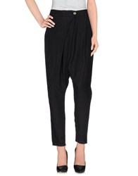 Manila Grace Denim Trousers Casual Trousers Women Black