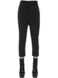 Rick Owens Cropped Viscose Pants