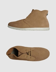 Element High Top Dress Shoes Light Brown